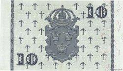 10 Kronor SUÈDE  1957 P.43e SUP
