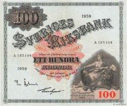 100 Kronor SUÈDE  1959 P.48a pr.SUP