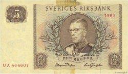 5 Kronor SUÈDE  1962 P.50a TTB