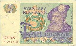 5 Kronor SUÈDE  1977 P.51c NEUF