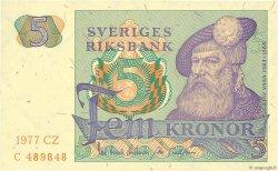 5 Kronor SUÈDE  1977 P.51d SPL