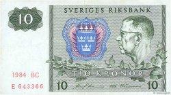 10 Kronor SUÈDE  1984 P.52e TTB