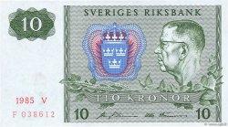 10 Kronor SUÈDE  1985 P.52d pr.NEUF