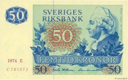 50 Kronor SUÈDE  1974 P.53b NEUF