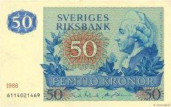 50 Kronor SUÈDE  1986 P.53d pr.SUP
