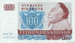 100 Kronor SUÈDE  1970 P.54a SUP