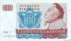 100 Kronor SUÈDE  1982 P.54c TTB
