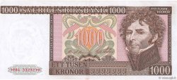 1000 Kronor SUÈDE  1984 P.55b TTB+