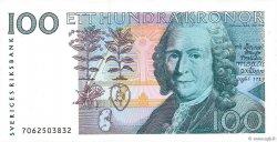 100 Kronor SUÈDE  1987 P.57a SUP+