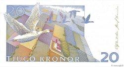 20 Kronor SUÈDE  1992 P.61a NEUF