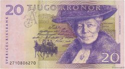 20 Kronor SUÈDE  2002 P.63a TB