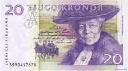 20 Kronor SUÈDE  2005 P.63b TTB