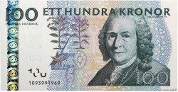 100 Kronor SUÈDE  2001 P.65a NEUF