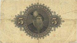 5 Kronor SUÈDE  1943 P.33z TB