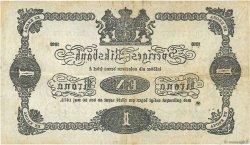 1 Krona SUÈDE  1918 P.32e TB+