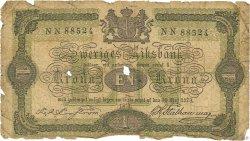 1 Krona SUÈDE  1874 P.01a AB