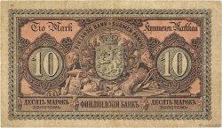 10 Markkaa FINLANDE  1889 P.A51 TB