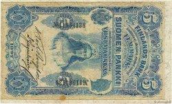 5 Markkaa FINLANDE  1897 P.002 TTB