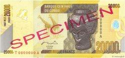 20000 Francs CONGO (RÉPUBLIQUE)  2012 P.104s pr.NEUF
