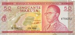 50 Makuta CONGO  1968 P.11a TTB