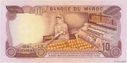 10 Dirhams MAROC  1970 P.57a TTB+