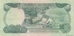 50 Dirhams MAROC  1970 P.58a TB