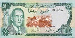 50 Dirhams MAROC  1970 P.58a SUP+