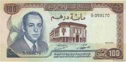 100 Dirhams MAROC  1970 P.59a SUP