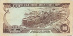 100 Dirhams MAROC  1985 P.59b TTB