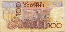 100 Dirhams MAROC  1987 P.62a TB+