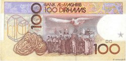 100 Dirhams MAROC  1987 P.62a SUP