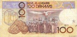 100 Dirhams MAROC  1987 P.62b TB+