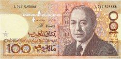 100 Dirhams MAROC  1987 P.62b NEUF