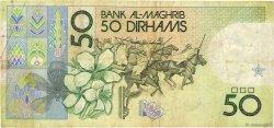 50 Dirhams MAROC  1987 P.64a TB