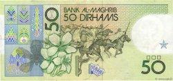 50 Dirhams MAROC  1987 P.64b TTB+