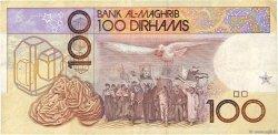 100 Dirhams MAROC  1987 P.65b TTB