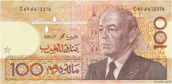 100 Dirhams MAROC  1987 P.65b TTB+