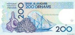 200 Dirhams MAROC  1987 P.66b NEUF
