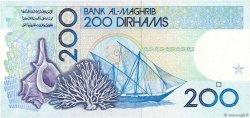 200 Dirhams MAROC  1987 P.66c NEUF