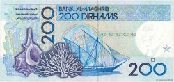 200 Dirhams MAROC  1987 P.66d NEUF