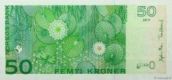 50 Kroner NORVÈGE  2011 P.46d NEUF