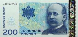200 Kroner NORVÈGE  2009 P.50e NEUF