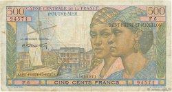500 Francs Pointe à Pitre SAINT PIERRE ET MIQUELON  1946 P.27 B