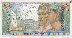 500 Francs Pointe à Pitre SAINT PIERRE ET MIQUELON  1946 P.27s SPL