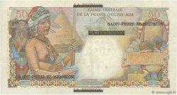 1 NF sur 50 Francs SAINT PIERRE ET MIQUELON  1960 P.30b TTB+