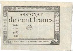 100 Francs FRANCE  1795 Ass.48a SUP