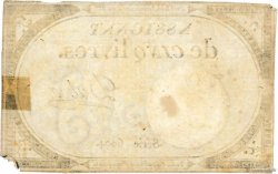 5 Livres FRANCE  1793 Ass.46a TB