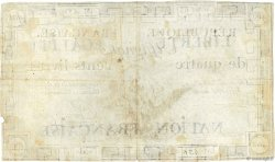 400 Livres FRANCE  1792 Ass.38a TB+