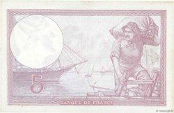 5 Francs VIOLET modifié FRANCE  1939 F.04.02 SUP+