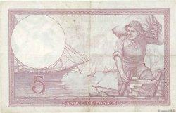 5 Francs VIOLET modifié FRANCE  1939 F.04.02 TTB